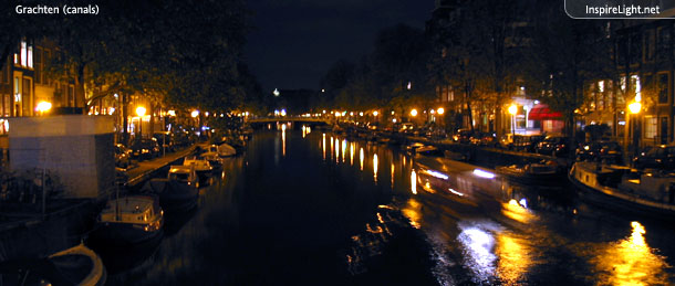Amsterdam tour by night